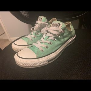 Mint colored converse